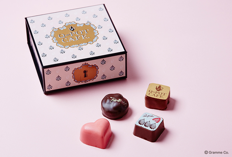 今年のバレンタインは、Q-pot CAFE.のペシャルショコラを贈ってみない?
